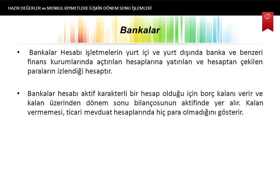 ÇEKLER Çek bir bankaya hitaben yazılmış ve TTK da belirtilen hükümlere göre düzenlenmiş, ödeme emri niteliğinde olan kıymetli bir evraktır. Dönemsonu