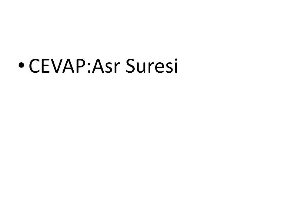 CEVAP:Asr Suresi