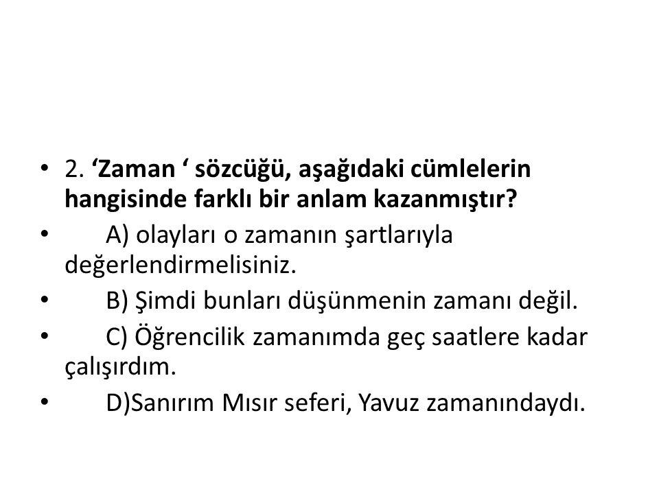 2) Bir sınıfta 30 öğrenci matematik dersinden, 25 öğrenci Türkçe dersinden, 20 öğrenci her iki dersten başarılı olmuştur.