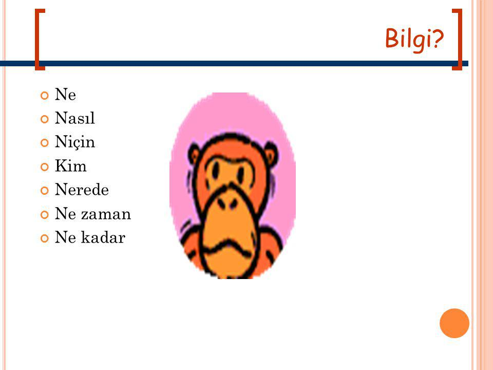 B ILIM NEDIR .