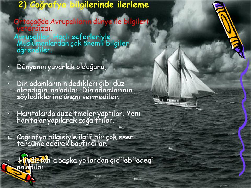Osmanlı devleti hala üst bir güç olduğunu düşünüyordu ipek ve baharat yolunu hala canlı olduğunu bu yüzden keşişlere katılmamıştır.