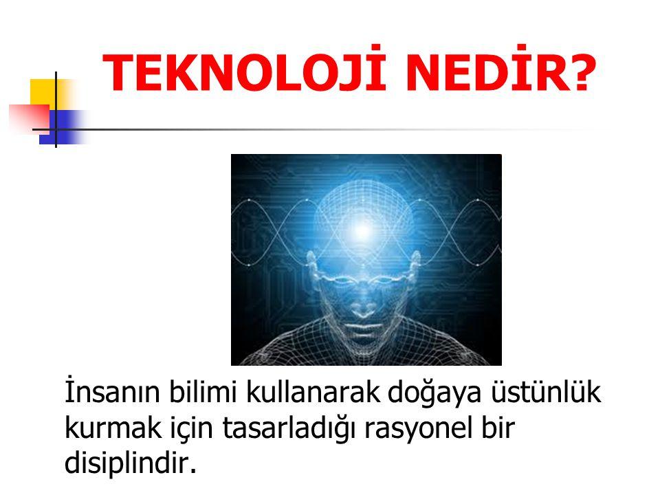 Amaç kendi teknolojimizi kendimizin üretmesi olmalıdır. Ancak bu şekilde beyin göçü önlenebilir.