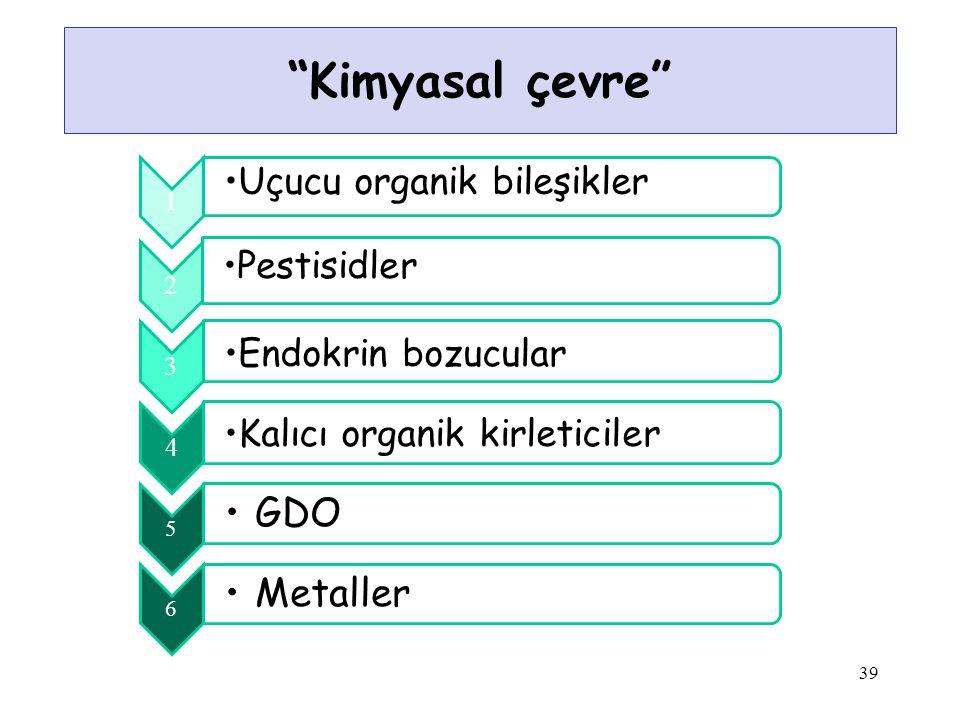 Kimyasal çevre 39