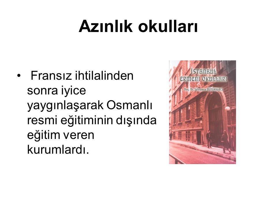 Osmanlı Devleti Zamanında Eğitimi Modernleştirme Çabaları Gazeteci Yazar İsmet Berkan, II.