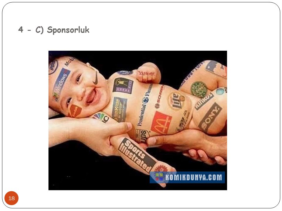 4 - C) Sponsorluk 18