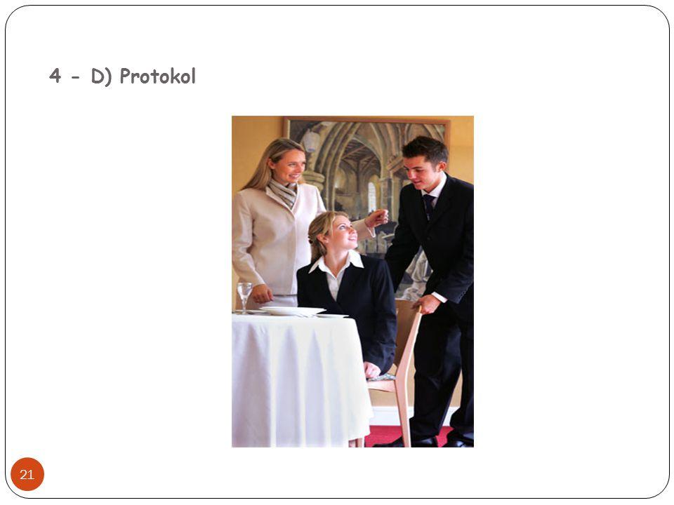 4 - D) Protokol 21