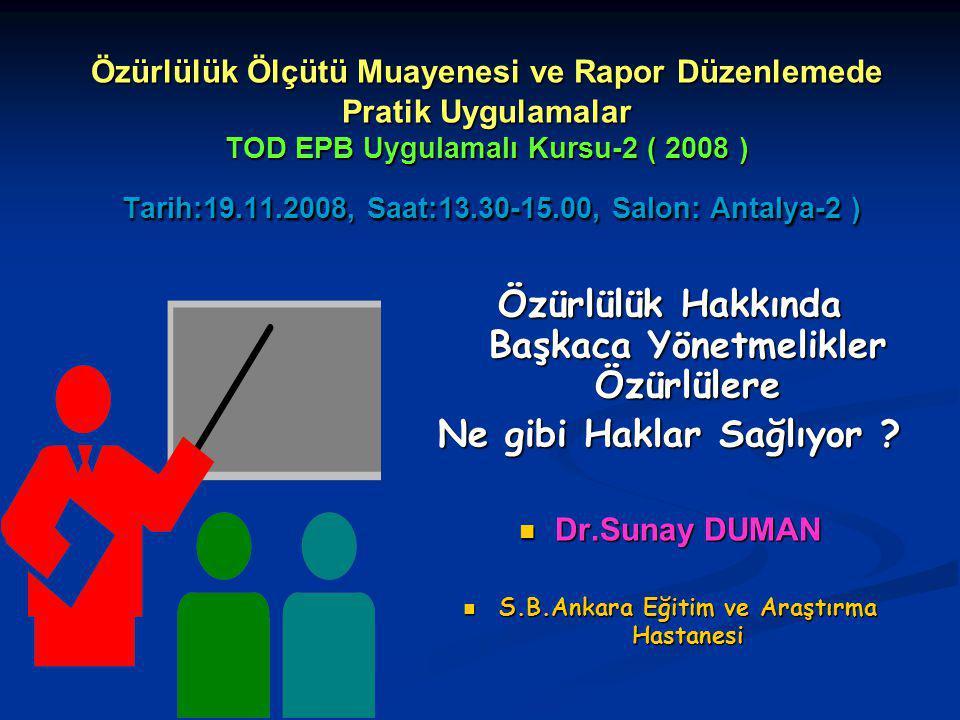 Özürlülerle ilgili çalışmalar yapan kurumlar / kuruluşlar / örgütler - 3 YÖK Özürlüler Danışma ve Koordinasyon Merkezi YÖK Özürlüler Danışma ve Koordinasyon Merkezi Belediyeler Özürlü Koordinasyon ve Danışma Birimleri Belediyeler Özürlü Koordinasyon ve Danışma Birimleri Türk Dil Kurumu Başkanlığı Türk Dil Kurumu Başkanlığı özel eğitim ve rehabilitasyon merkezleri özel eğitim ve rehabilitasyon merkezleri Sosyal yardımlaşma ve dayanışma vakıfları Sosyal yardımlaşma ve dayanışma vakıfları Türkiye Sakatlar Konfederasyonu Türkiye Sakatlar Konfederasyonu Dernekler Dernekler Özürlüler Spor Federasyonu Özürlüler Spor Federasyonu
