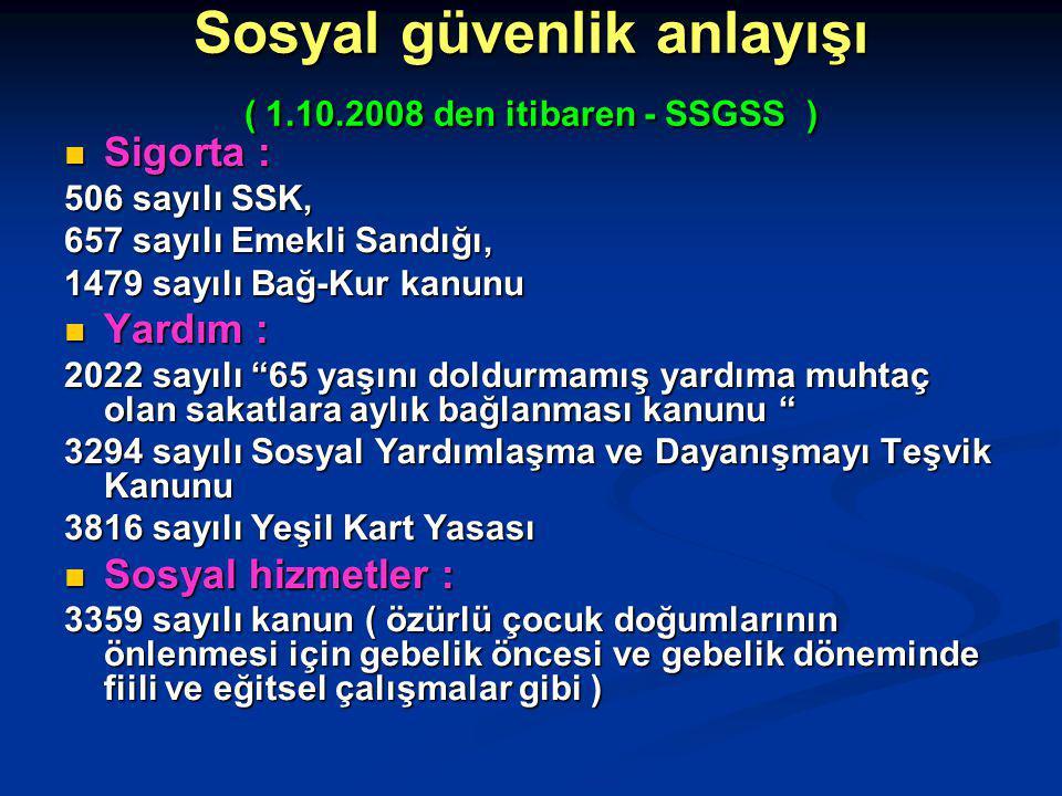 Özürlüler Mevzuatı / Kanunlar - 5 5233 numaralı Terör ve Terörle Mücadeleden Doğan Zararların Karşılanması Hakkında Kanun 5233 numaralı Terör ve Terörle Mücadeleden Doğan Zararların Karşılanması Hakkında Kanun 5237 numaralı Türk Ceza Kanunu 5237 numaralı Türk Ceza Kanunu 5253 numaralı Yeni Dernekler Kanunu 5253 numaralı Yeni Dernekler Kanunu 5258 numaralı Aile Hekimliği Pilot Uygulaması Hakkında Kanun 5258 numaralı Aile Hekimliği Pilot Uygulaması Hakkında Kanun 5369 numaralı Evrensel Hizmetin Sağlanması ve Bazı Kanunlarda Değişiklik Yapılması Hakkında Kanun 5369 numaralı Evrensel Hizmetin Sağlanması ve Bazı Kanunlarda Değişiklik Yapılması Hakkında Kanun 5378 numaralı Özürlüler ve Bazı Kanun ve Kanun Hükmünde Kararnamelerde Değişiklik Yapılması Hakkında Kanun 5378 numaralı Özürlüler ve Bazı Kanun ve Kanun Hükmünde Kararnamelerde Değişiklik Yapılması Hakkında Kanun 5393 numaralı Belediye Kanunu 5393 numaralı Belediye Kanunu 5434 numaralı T.C.