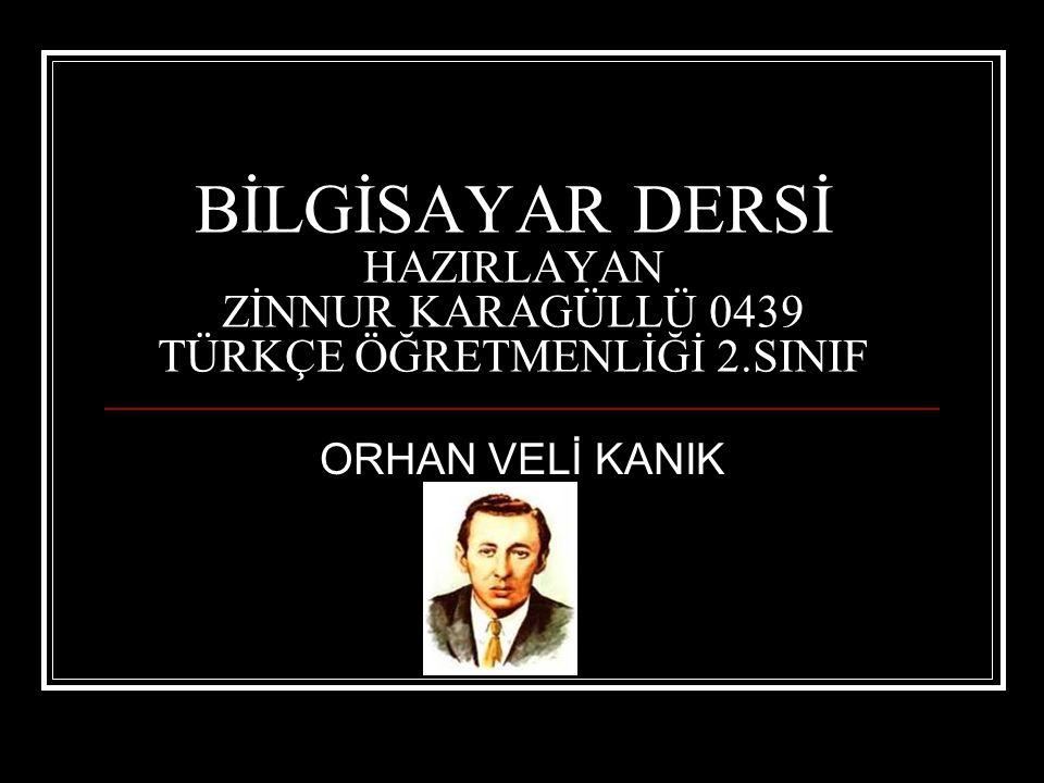 ÖLÜMÜ:  Orhan Veli, Yaprak ın kapanmasının ardından İstanbul a geri döndü.