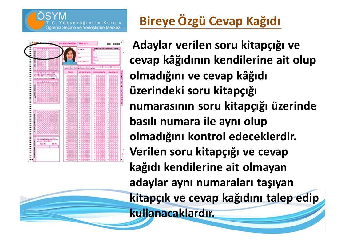 2011- ÖSYS İkinci Aşama : Lisans Yerleştirme Sınavları (LYS) 4.