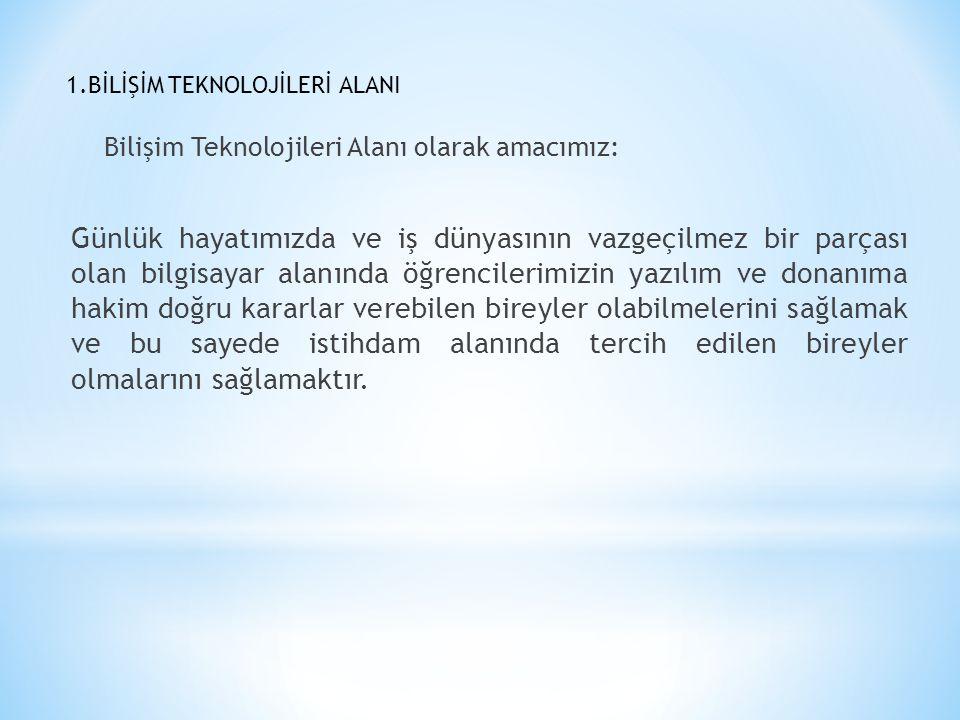 3.MATBAA TEKNOLOJİSİ ALANI Alanımız İstanbul Anadolu yakasında tek alan konumundadır.