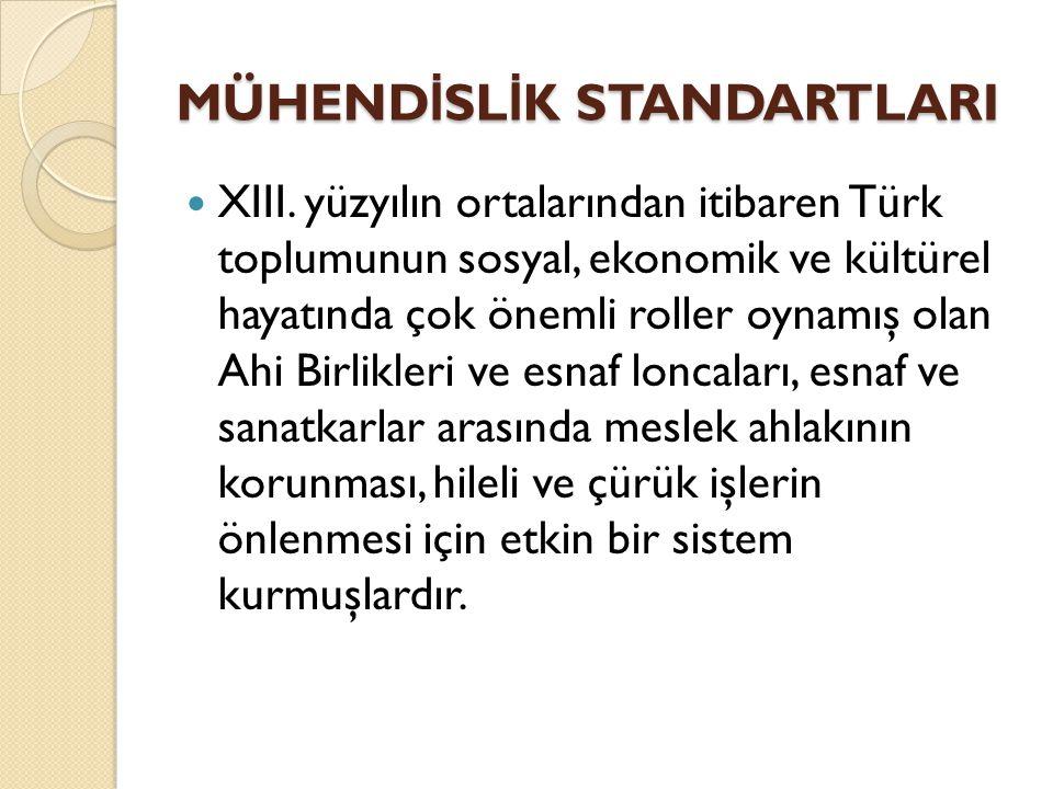 XIII. yüzyılın ortalarından itibaren Türk toplumunun sosyal, ekonomik ve kültürel hayatında çok önemli roller oynamış olan Ahi Birlikleri ve esnaf lon