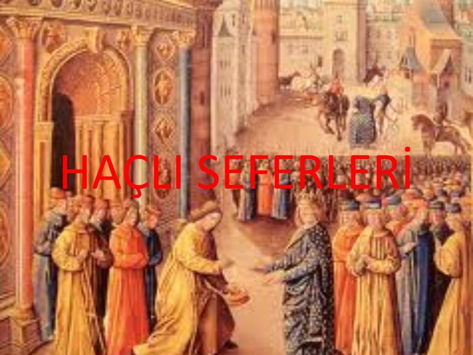 Hristiyanların mukaddes toprak ve haç yeri olarak adlandırdıkları Kudüs ve civarının, 11 inci yüzyıldan itibaren Müslüman Türk İmparatorluğu Selçukluların eline geçmesi sonucunda, bölgenin sanki Hristiyanların haç vazifelerini yapmasına kapatılmış olarak gösterilmeye çalışması çabaları Avrupalı Devletlerin Müslüman halka ve devletlerine karşı tutum almalarına sebebiyet vermiştir.