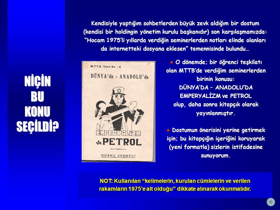 Avrupalı da Osmanlı Devletini yıkıp mirasına konmak için çok çalıştı ve başardı.