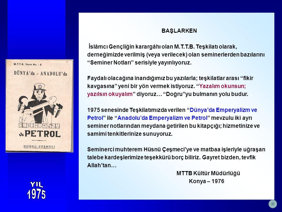 Türkiye'nin iktisadi kalkınması sanayileşmesine, sanayi de enerji ile yakından ilgilidir.