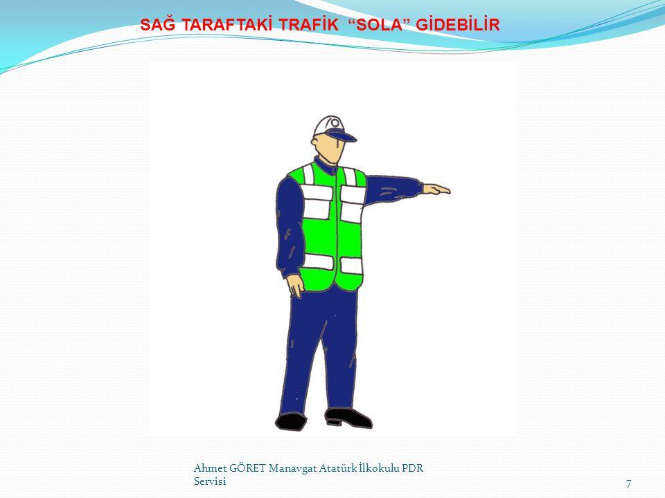 IŞIKLI TRAFİK İŞARETLERİ (ITİ'LER) Ahmet GÖRET Manavgat Atatürk İlkokulu PDR Servisi28