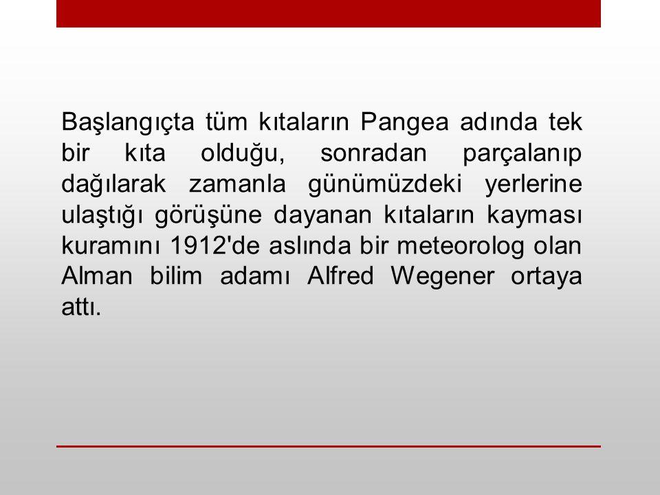 1- Kuzey Anadolu Fayı 2- Doğu Anadolu Fayı 3- Ege (Helen) - Kıbrıs Yayı TÜRKİYE'NİN BAZI TEKTONİK UNSURLARI