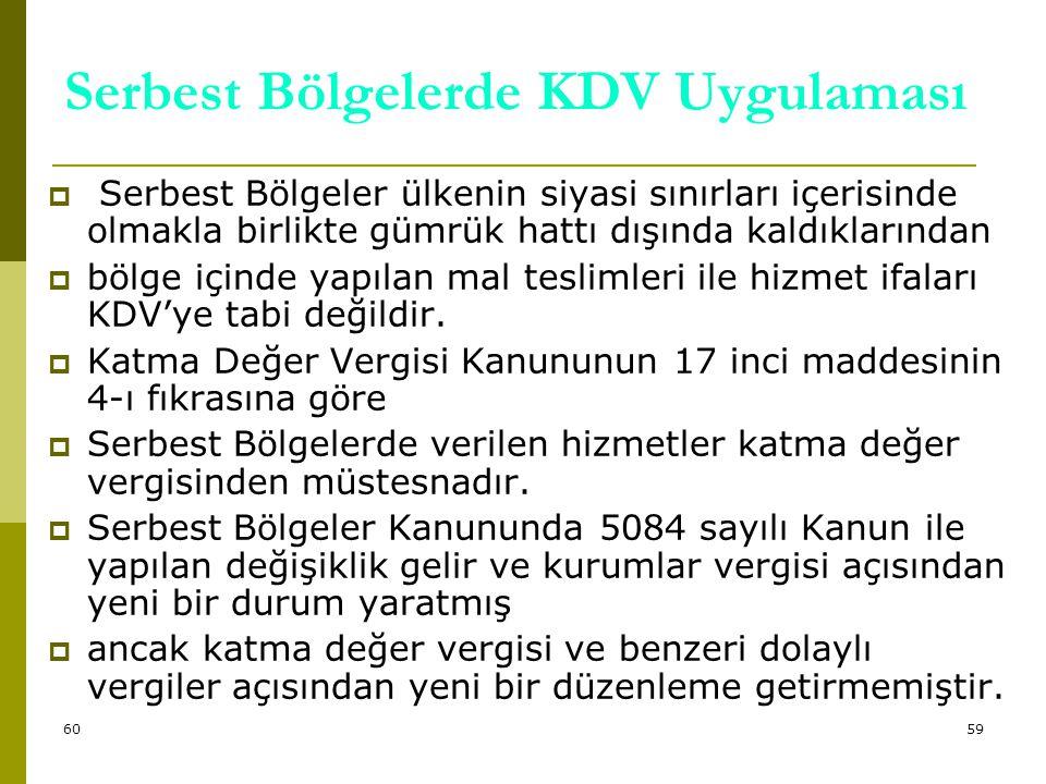 60 Serbest Bölgelerin sağladığı diğer imkanlar şu şekilde özetlenebilir:  Serbest bölge faaliyetlerinden elde edilen kazanç ve gelirler  hiç bir izne ve vergiye tabi olmaksızın yurt dışına veya Türkiye'ye transfer edilebilir.