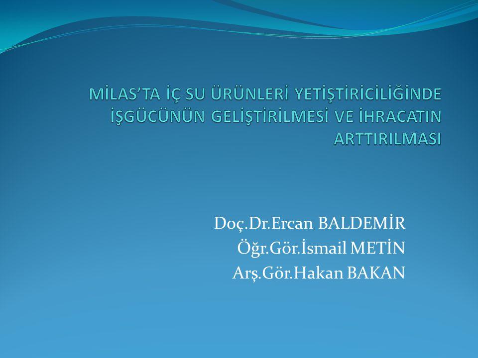 Konu Başlıkları Genel İşletmecilik Bilgisi Su Ürünleri Üreten İşletmelerin Genel Yapısı Dünyada Su Ürünleri Üretiminin Yeri ve Önemi Türkiye'de Su Ürünleri Üretiminin Yeri ve Önemi Türkiye'de Su Ürünleri Yetiştiriciliği Potansiyeli SWOT Analizi