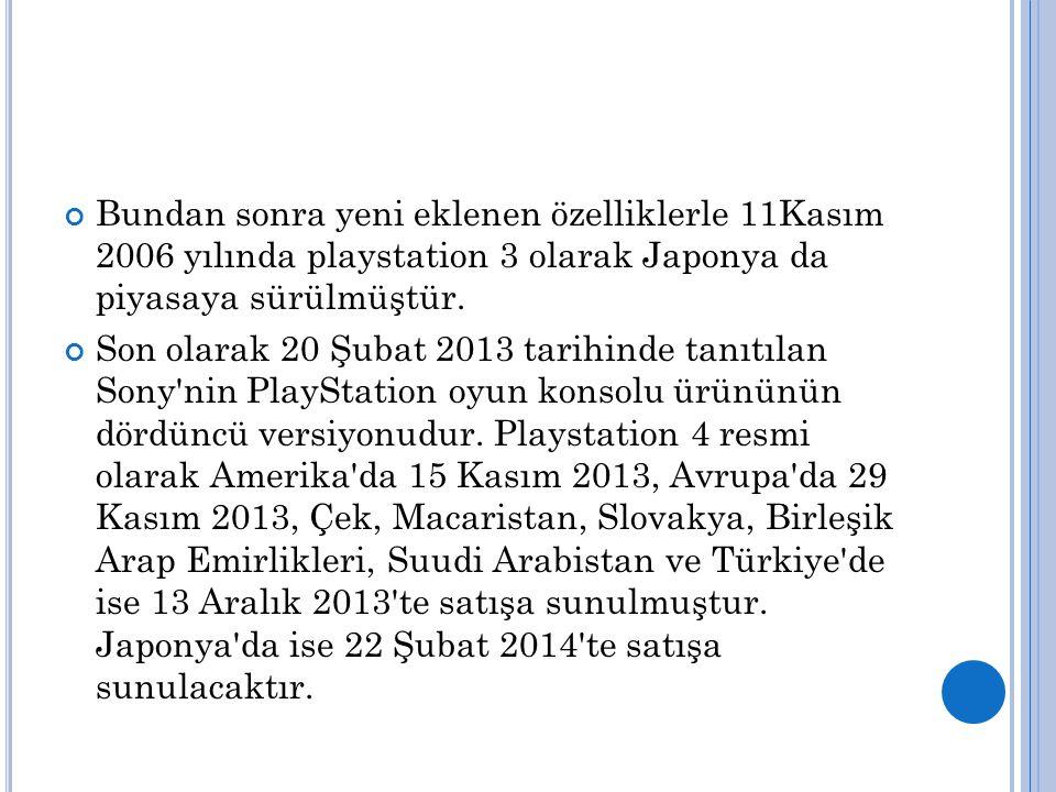 Platstation 3 1- Grand Theft Auto 5 Toplam Ciro: 800 milyar dolar 2- Call of Duty: Modern Warfare 3 Satış Sayısı: 26.5 Milyon Firma: Activision, Square Enix Üreticiler: Mark Rubin, Jason Ades Tasarımcılar:Jon Porter, Michael Condrey, Glen Schofield Tarih: 8 Kasım 2011 First Person Shooter.
