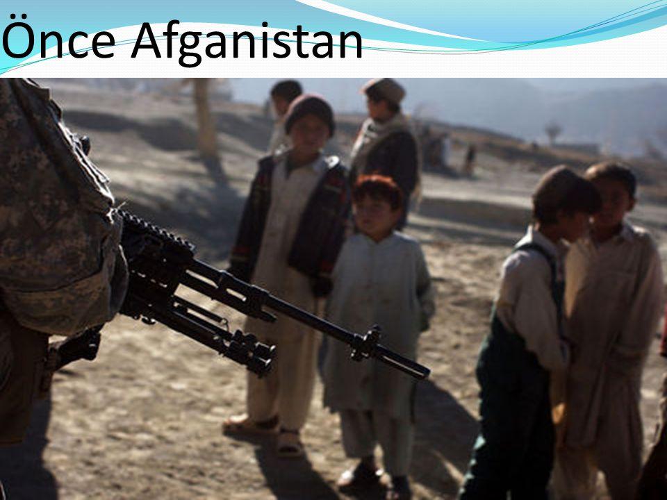 Önce Afganistan
