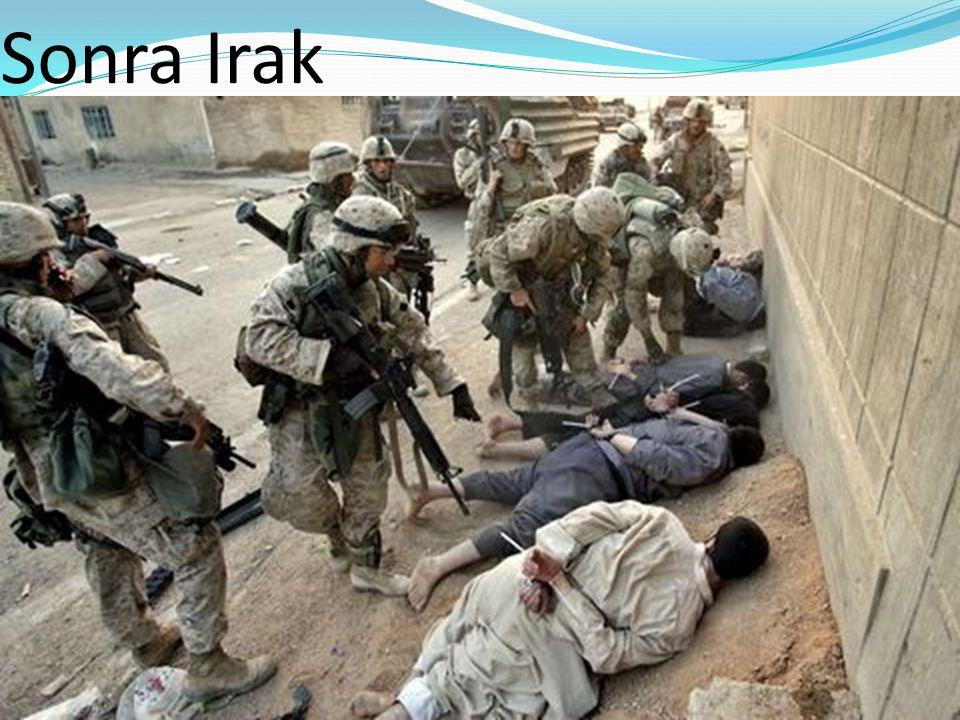 Ve şimdi Libya...