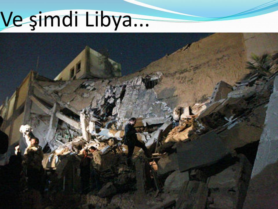 Kaddafi'de devrilmek üzere...