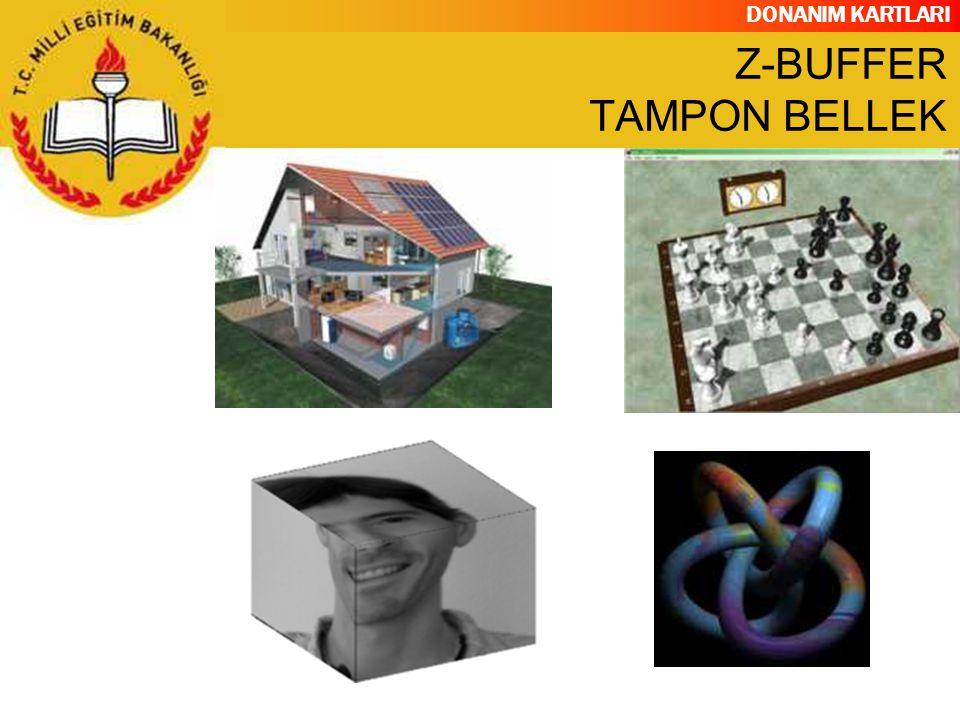 DONANIM KARTLARI Z-BUFFER TAMPON BELLEK