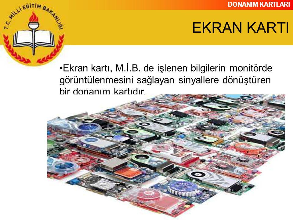 DONANIM KARTLARI ETHERNET KARTI