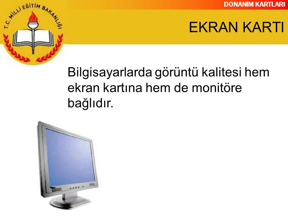 DONANIM KARTLARI TV kartları televizyon yayınlarının bilgisayarda seyredilmesini sağlayan kartlardır.