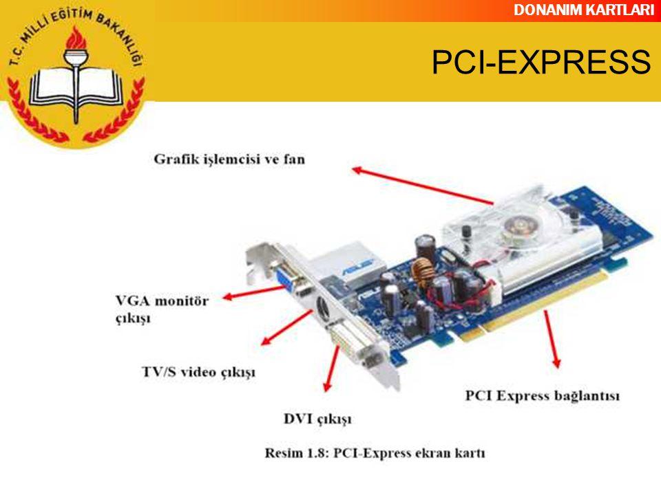 DONANIM KARTLARI PCI-EXPRESS