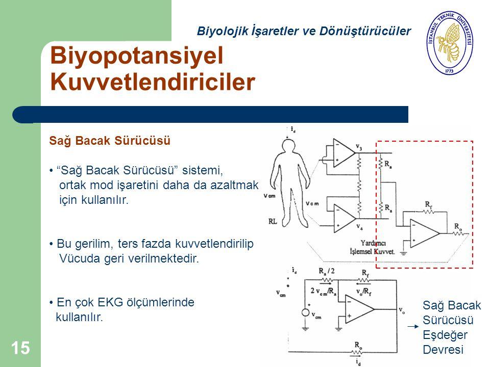 Sağ Bacak Sürücüsü Sağ Bacak Sürücüsü sistemi, ortak mod işaretini daha da azaltmak için kullanılır.