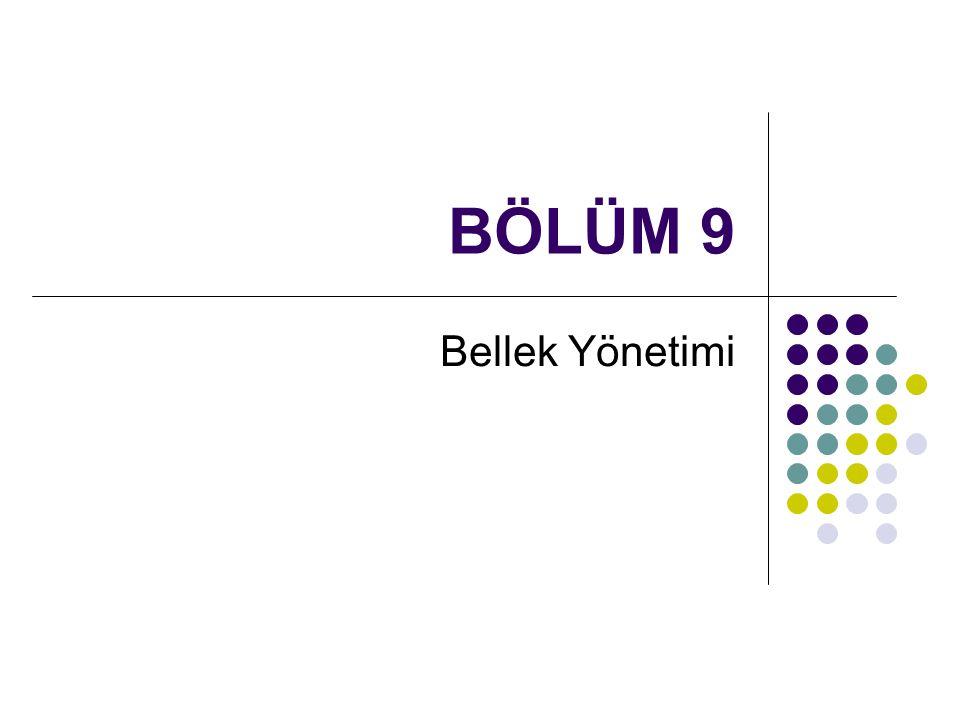 Sevinç İlhan Omurca - OS - Bolum 962 Paylaşılmış sayfalar Paylaşılmış kod read-only kod prosesler arasında paylaştırılmıştır.