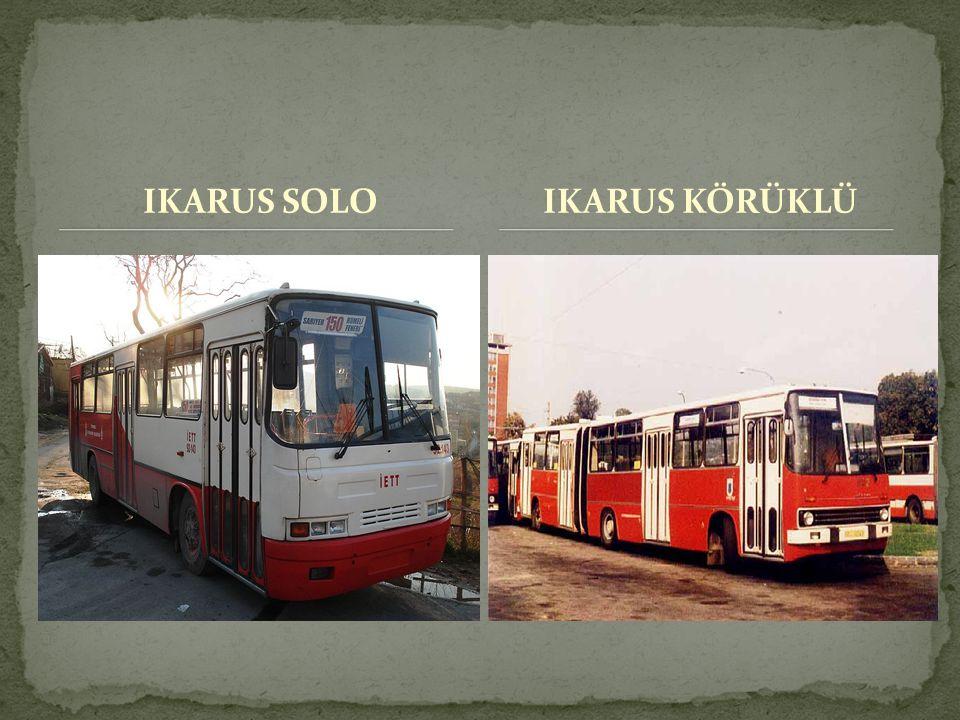 IKARUS SOLOIKARUS KÖRÜKLÜ