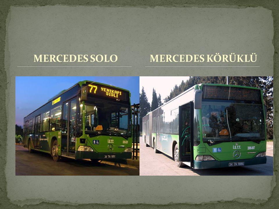 MERCEDES SOLO MERCEDES KÖRÜKLÜ
