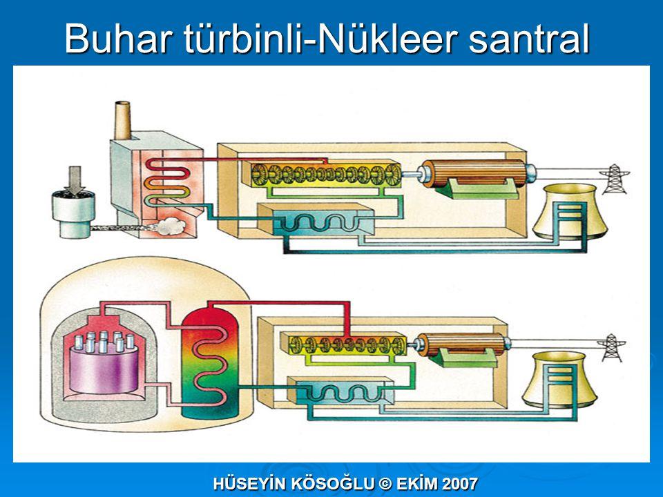 Buhar türbinli-Nükleer santral HÜSEYİN KÖSOĞLU © EKİM 2007