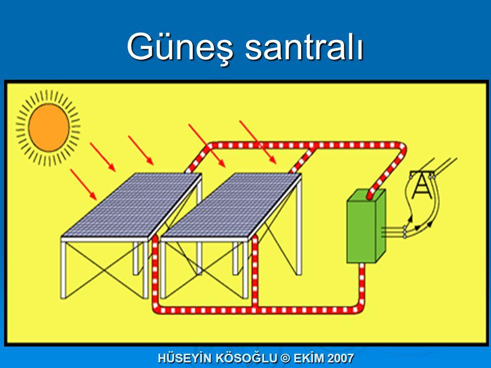Güneş santralı HÜSEYİN KÖSOĞLU © EKİM 2007