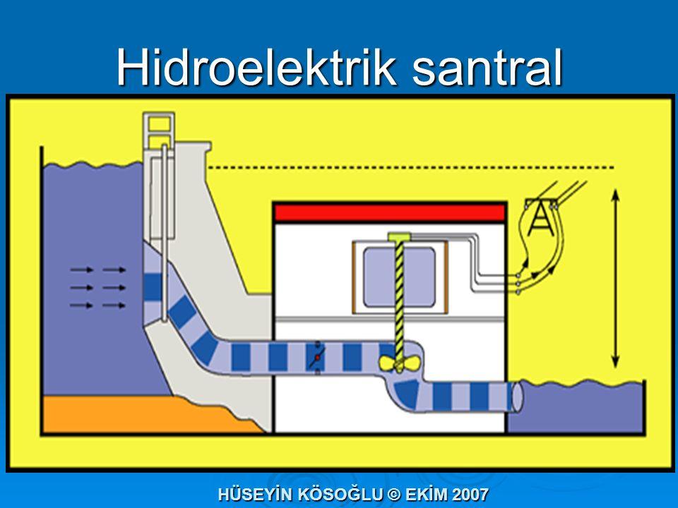 Hidroelektrik santral HÜSEYİN KÖSOĞLU © EKİM 2007