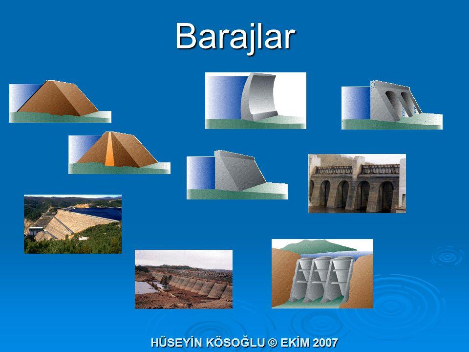Barajlar HÜSEYİN KÖSOĞLU © EKİM 2007