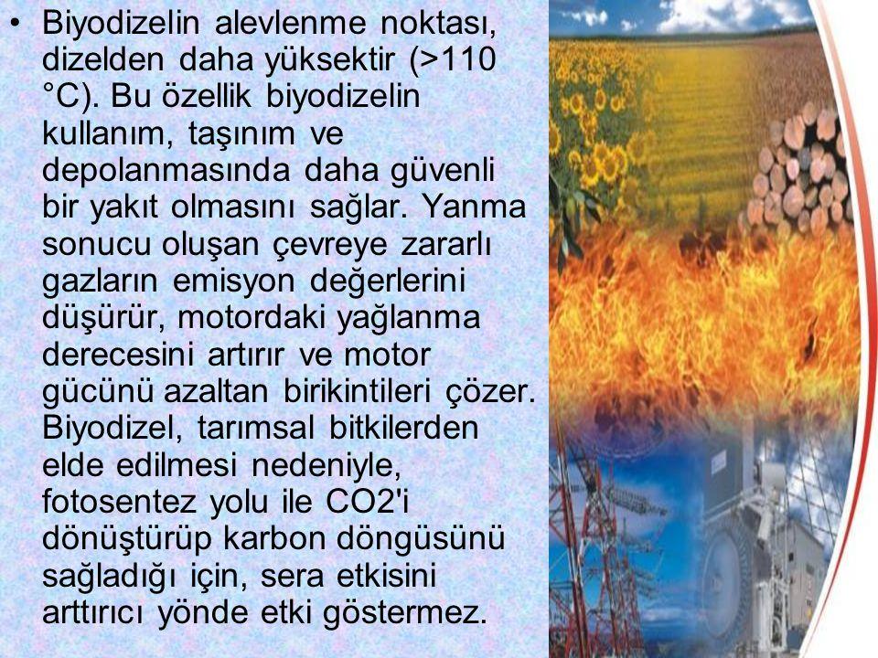 Ülkemizde de biyodizel çok soğuk bölgelerimizin dışında dizelin kullanıldığı her alanda kullanılabilecek bir yakıttır.
