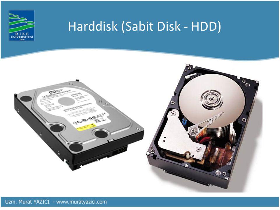 Harddisk (Sabit Disk - HDD)