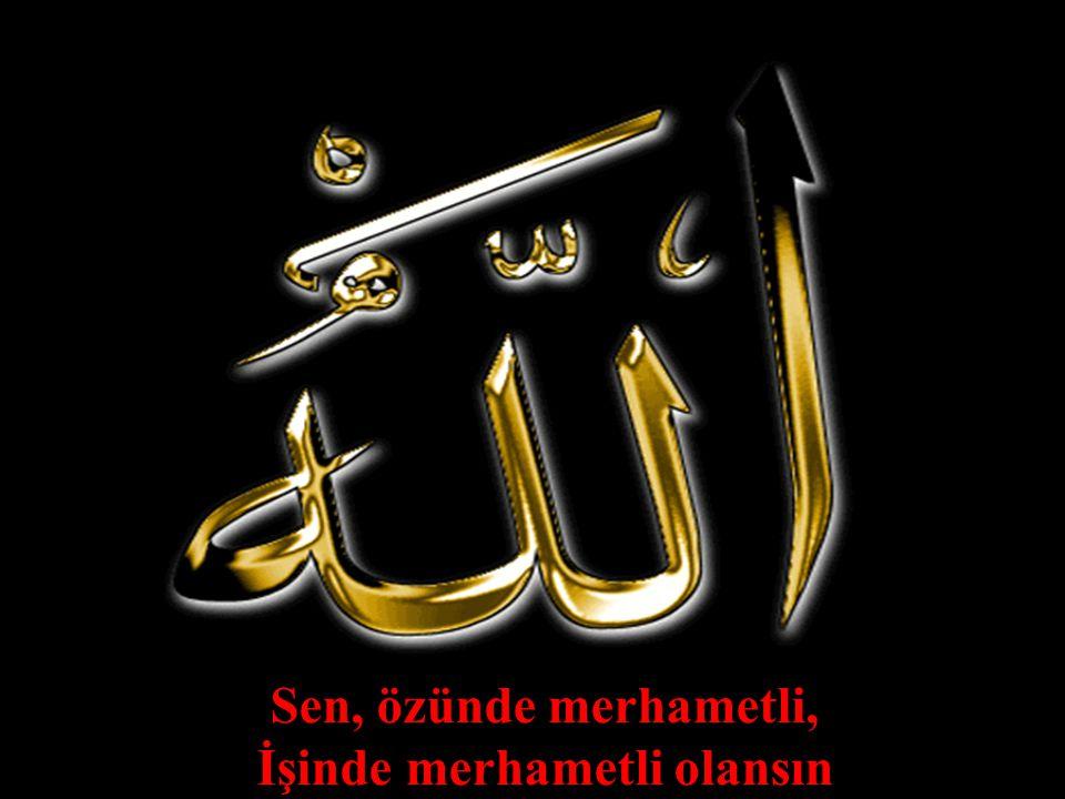 254 Sen, özünde merhametli, İşinde merhametli olansın