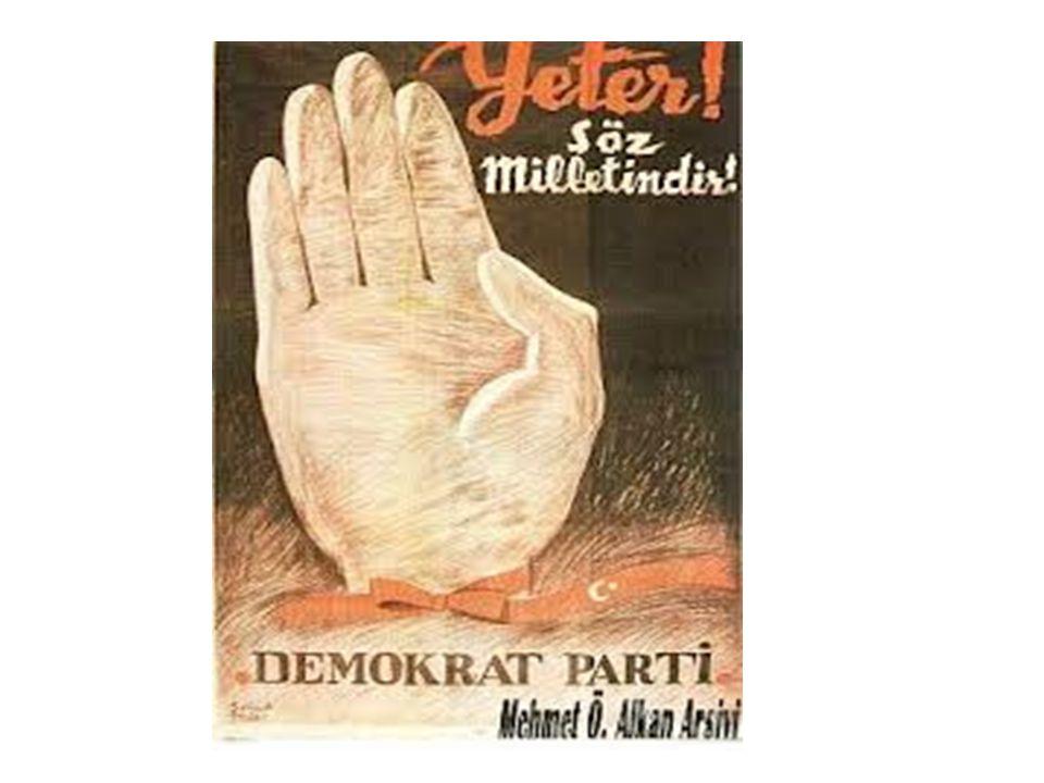 21 Temmuz 1946 Milletvekili Seçimleri Özellikleri İlk çok partili seçimler İlk tek dereceli seçimler Açık oy - gizli tasnif Seçim Sonuçları CHP 395 Milletvekili DP 64 Milletvekili Bağımsız 6 Milletvekili