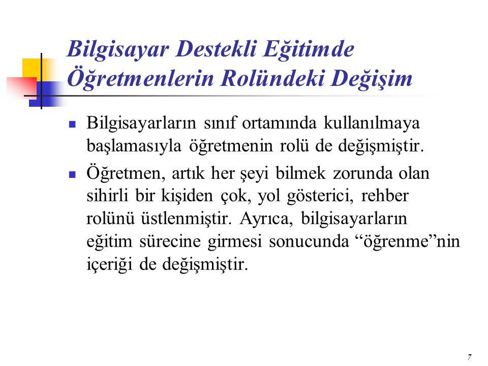 28 Çalışma Grubu Araştırma 31 Temmuz-25 Ağustos 2000 tarihleri arasında Ankara'da MEB tarafından düzenlenen formatör öğretmenlik hizmet içi eğitim kursuna katılan Türkiye'nin çeşitli bölgelerinde formatör öğretmelik yapan 250 öğretmene uygulanmıştır.
