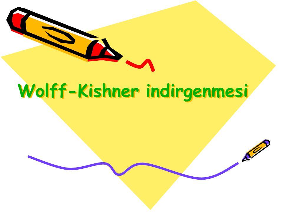 Wolff-Kishner indirgenmesi