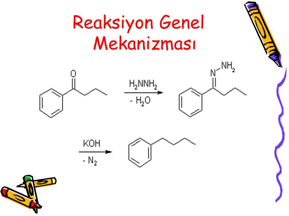 Reaksiyon Genel Mekanizması