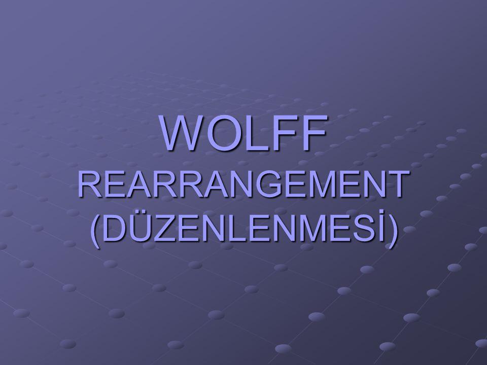 Diazoketonlar katalitik miktarda gümüş oksitle ısıtıldıklarında azot kaybederler ara basamak olarak açil karben oluşur.Bu karbanyon göçmesi şeklinde bir çevrilmeye uğrarlar.Bu çevrilmeye wolff çevrilmesi denir.Tepkime sonucunda keten meydana gelir.