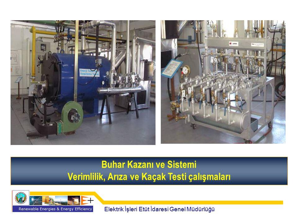 Buhar Kazanı ve Sistemi Verimlilik, Arıza ve Kaçak Testi çalışmaları Elektrik İşleri Etüt İdaresi Genel Müdürlüğü