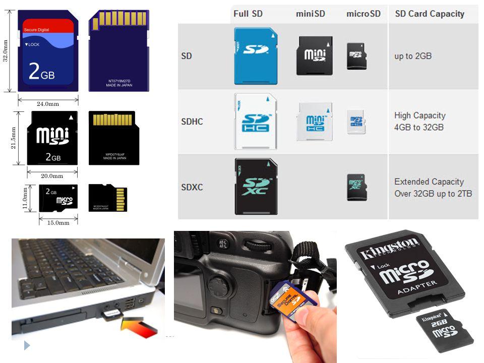 CF (CompactFlash)  Bir flash bellek çeşididir.