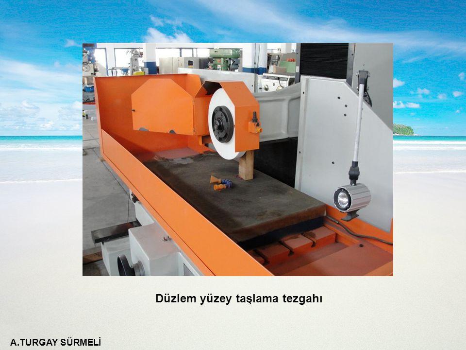 A.TURGAY SÜRMELİ Motor milinden taş miline hareket veren kasnak sistemindeki kayış çıkartılarak devir değiştirme işlemi yapılır.